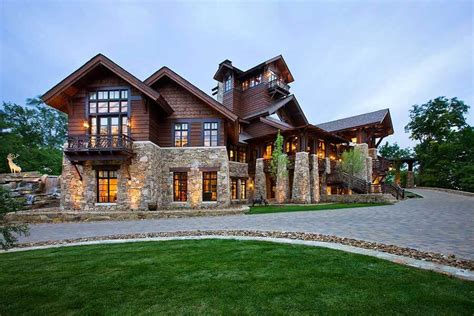 Timber Wood Home Plans