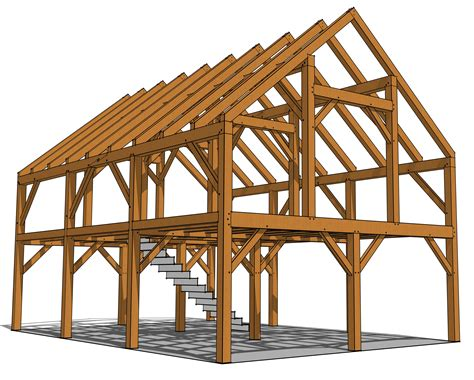 Timber-Frame-Barn-Floor-Plans