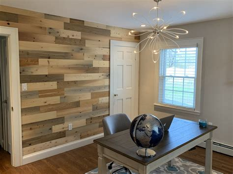 Timberchic Diy Reclaimed Wood Wall Planks