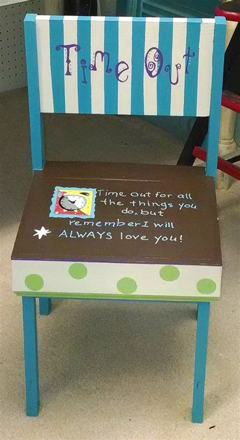 Time Out Chair Plans