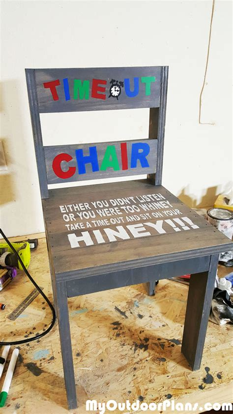 Time Out Chair Woodworking Plans