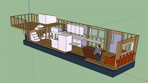 Tiny Home Plans Under 400 Sq Ft On Wheels