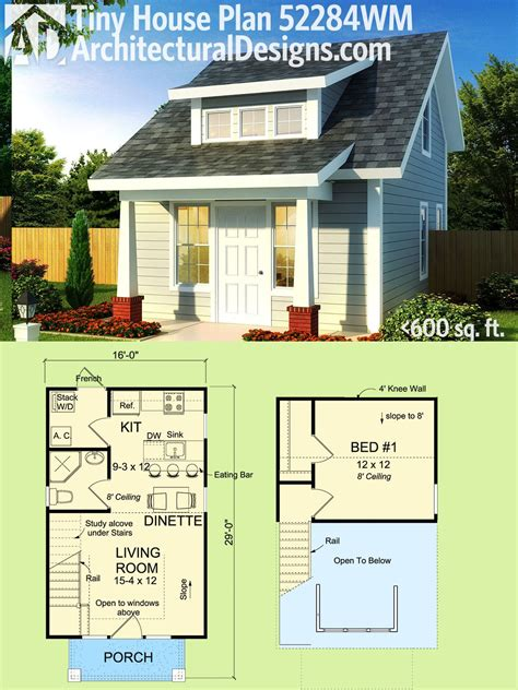 Tiny House 600 Sq Ft House Plans