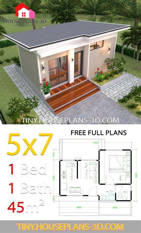 Tiny Shed Roof House Plans