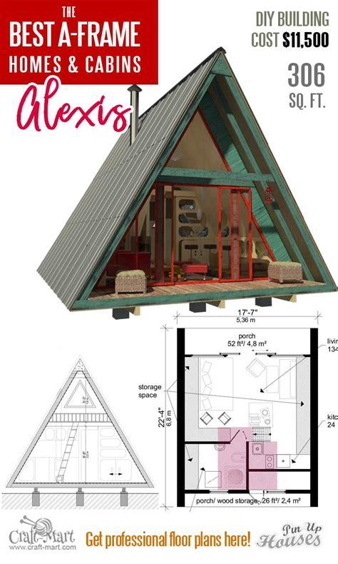 Tiny-A-Frame-House-Floor-Plans
