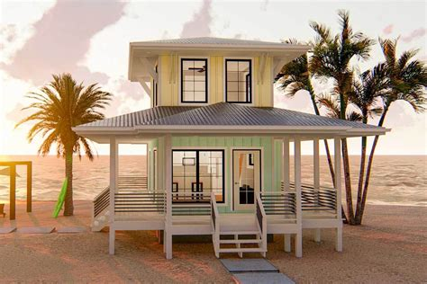 Tiny-Beach-Home-Plans