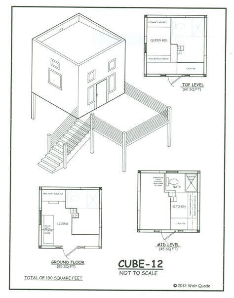 Tiny-Cube-House-Plans