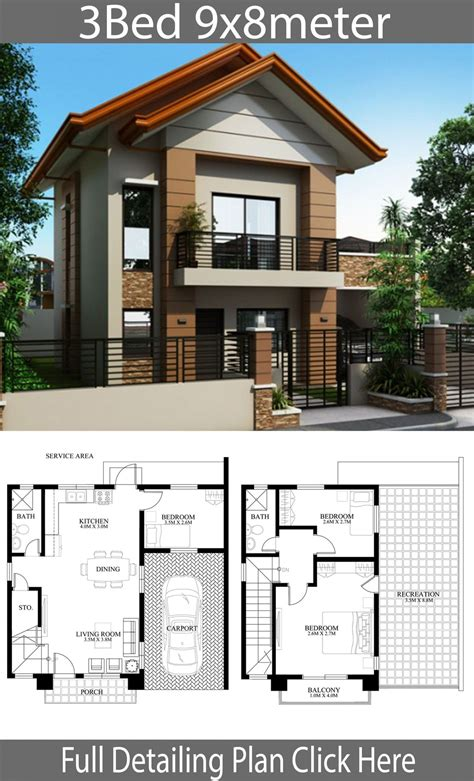 Tiny-Double-Story-House-Plans