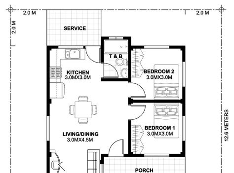 Tiny-House-Floor-Plans-With-Measurements