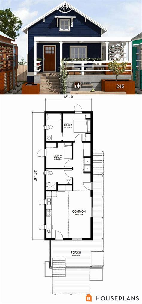 Tiny-Shotgun-House-Plans