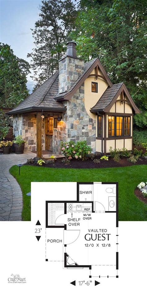 Tiny-Tudor-Home-Plans