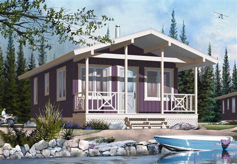 Tiny-Vacation-Home-Plans