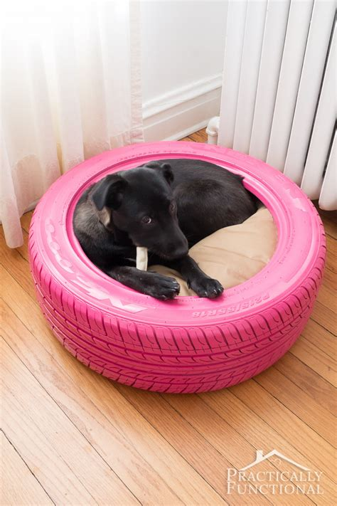 Tire Dog Bed Diy Home