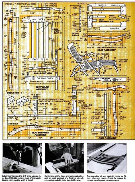 Titanic-Deck-Chair-Plans