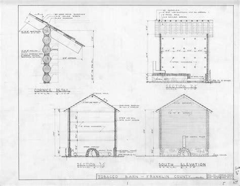 Tobacco Barn House Plans