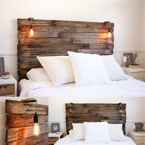 Today Home Diy Headboard Wood