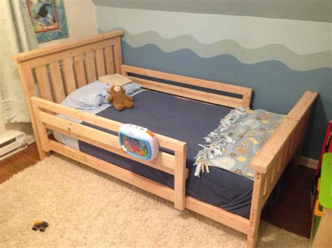 Toddler Bed Frame Diy
