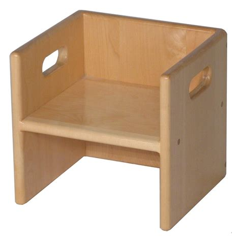 Toddler Cube Chair Plans