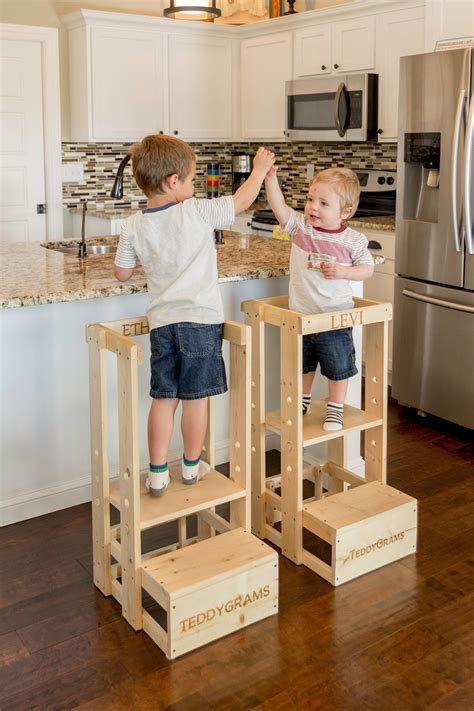 Toddler Kitchen Helper Plans