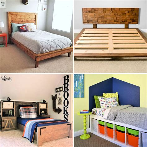 Toddler Platform Bed Frame Plans