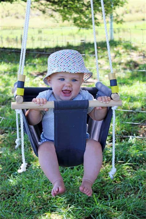 Toddler swing diy Image