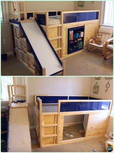 Toddler-Bed-With-Slide-Plans