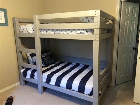 Toddler-Bunk-Bed-Diy-Plans