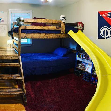 Toddler-Loft-Bed-With-Slide-Plans