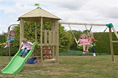 Toddler-Playset-Plans-No-Swing