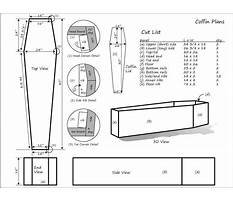 Best Toe pincher coffin plans free
