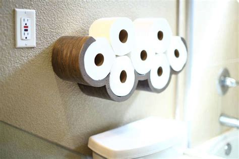 Toilet Paper Cloud Shelf DIY