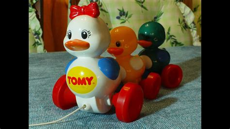 Tomy Pull Along Duck Toy