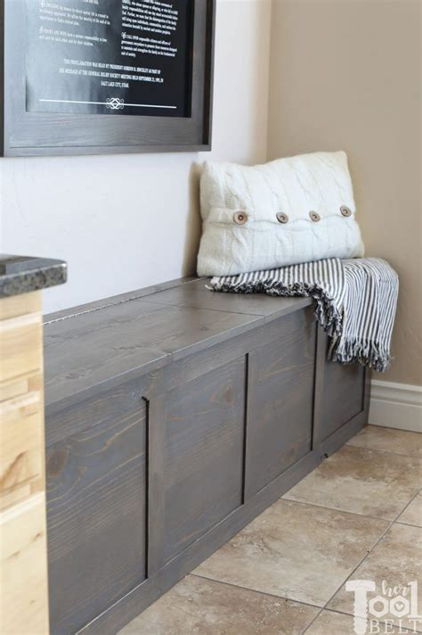 Tool Entryway Storage Bench Plans