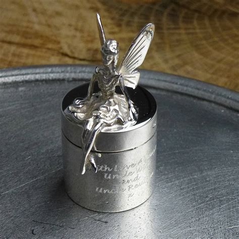 Tooth Fairy Box Silver