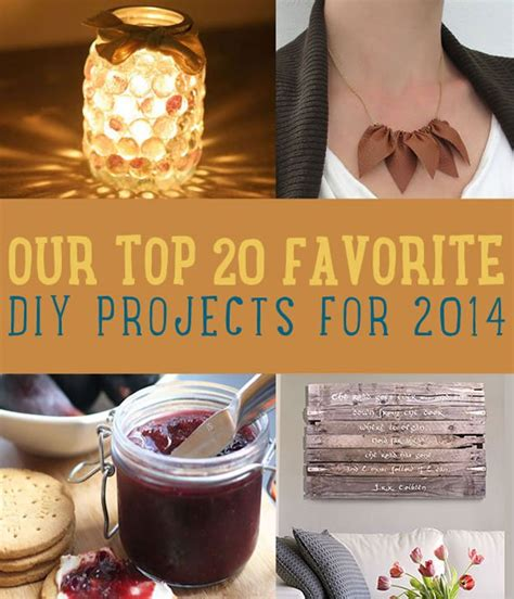 Top 20 Diy Projects