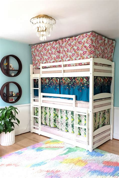 Top Bunk Bed Curtains DIY
