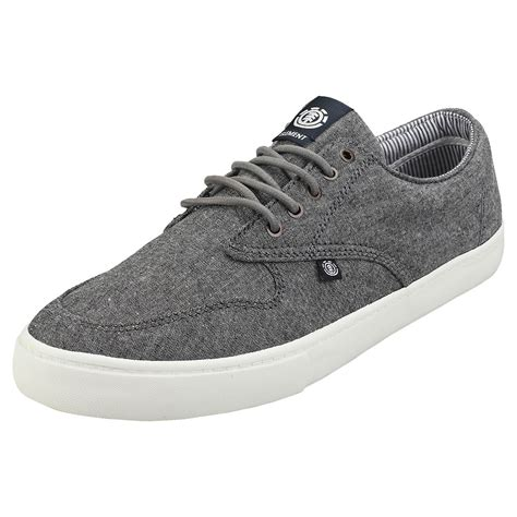 Topaz Chambray Mens Trainers