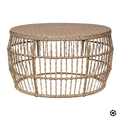 Topping Outdoor Wicker Coffee Table