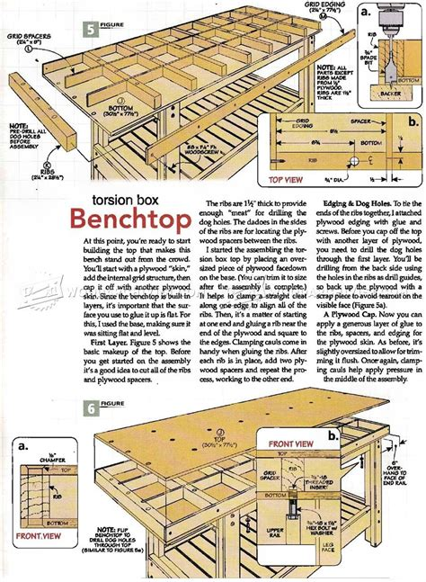 Torsion-Box-Router-Table-Plans