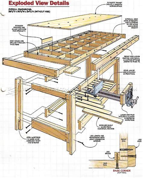 Torsion-Box-Workbench-Plans