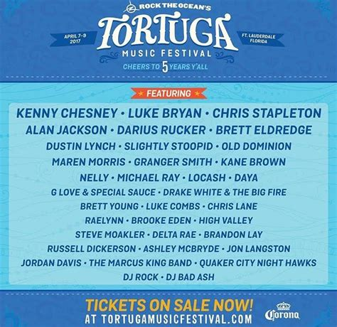 Tortuga Festival 2017 Lineup And Watershed Festival Lineup 2018