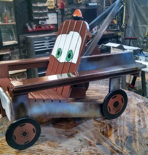 Tow Mater Chair Plans
