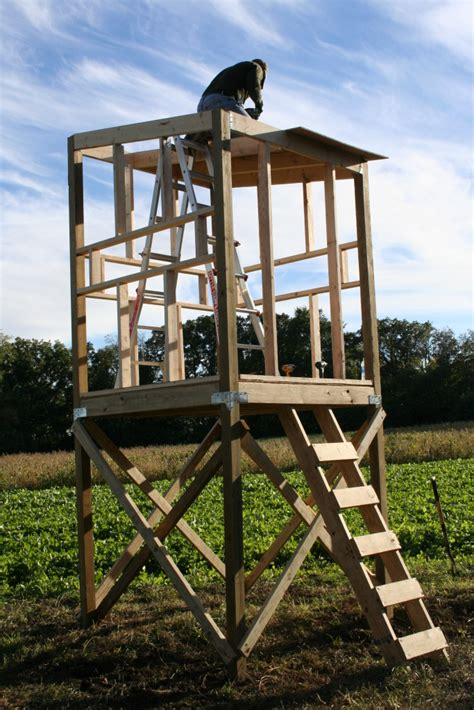 Tower-Box-Blind-Plans