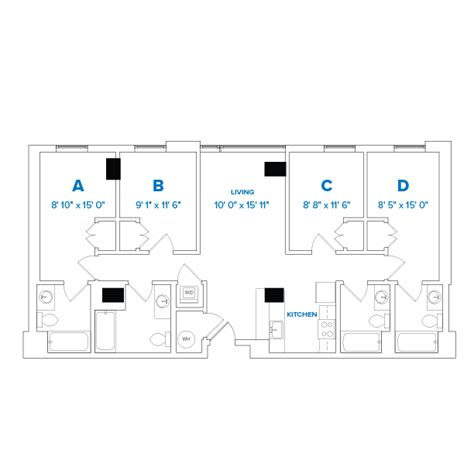 Towson Wood Apartment Floor Plans