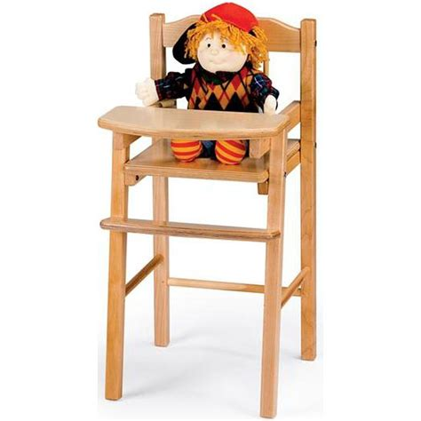 Toy Doll High Chair Plans