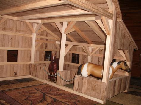 Toy Horse Barns Plans