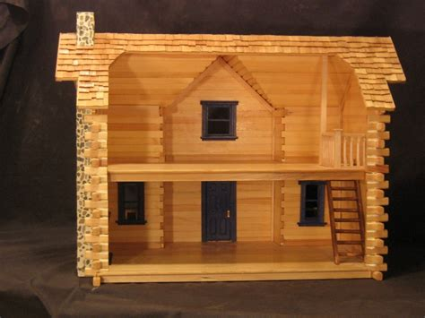 Toy Log House Plans