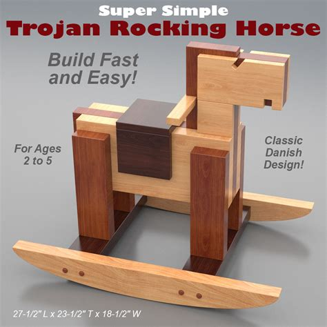 Toy Making Plans Trojan Horse