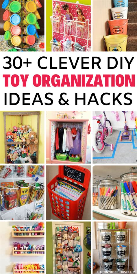 Toy Organization Diy Ideas