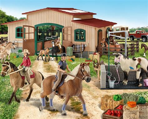 Toy Stables For Horses